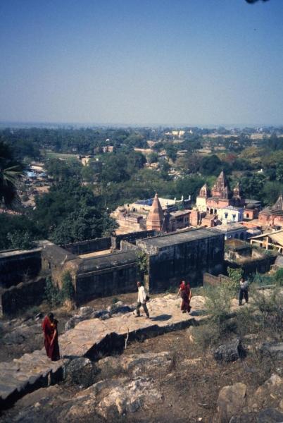 Hill above Rajgir