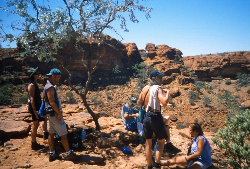 Kings Canyon, Red Centre
