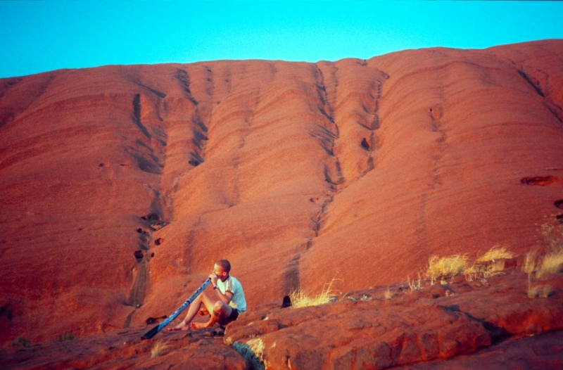 Uluru Early Morning, Red Centre