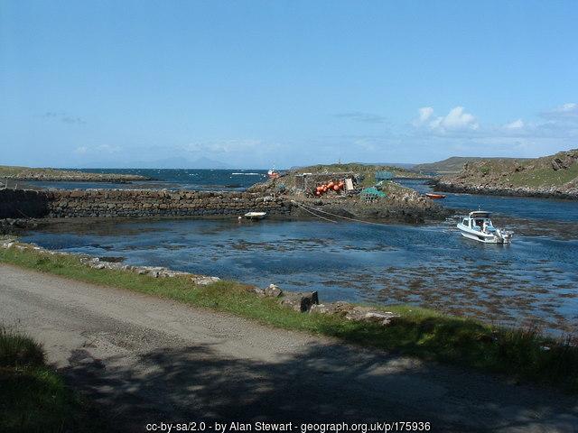 Croig harbour, Mull